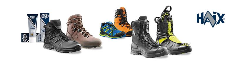 Laarzen en werkschoenen