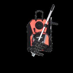 Vallfirest Backpack Water Pump orange 20L