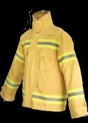 Vallfirest Brandweerjas 2c - geel maat L