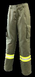 Vallfirest Brandweerbroek 2c - groen maat L