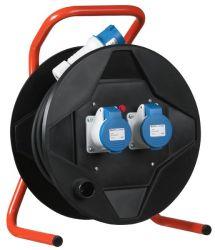 Kabelhaspel met thermische beveiliging