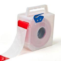 Afzetlint dispenserbox wit