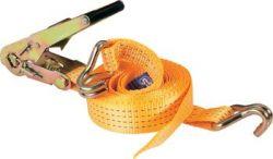 Spanband 5mm en ratel 2m oranje