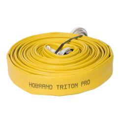 """Brandweerslang Triton 1.5"""" 20m N81 - GEEL"""