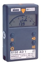 Radiation dose rate meter