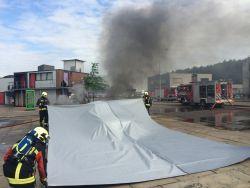 Tignis fire blanket 6x9 m