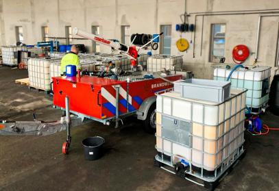 Hobrand verzorgt regionale omschakeling naar Fluorvrij Blusschuim