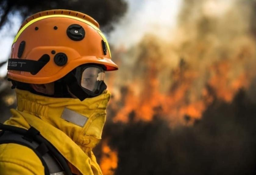 Einde natuurbrandseizoen